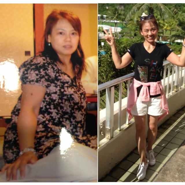 kishiko_diet_before&after